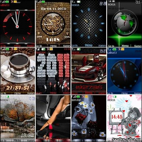 Wonderful theme for Nokia S40 Pack 21